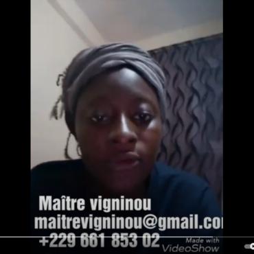 vidéos de témoignages sur la marabout vigninou